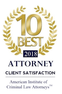 Criminal Defense Attorney Chad Frost Orlando Florida - 2018 Best Rated Attorney Orlando Florida