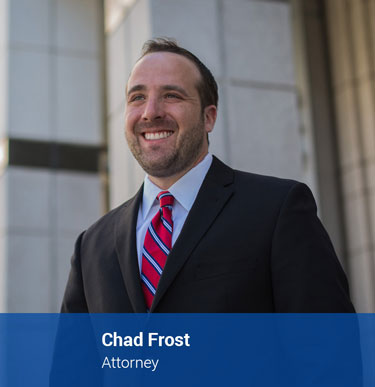 Criminal Defense and Family Law Attorney Chad Frost